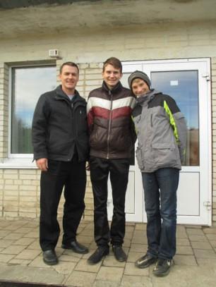 Jeremy, Sasha, Vova