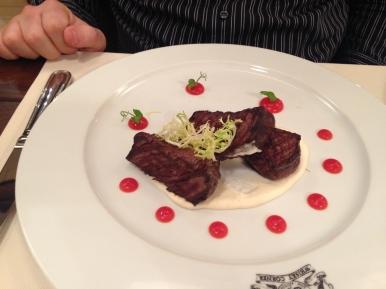 Jeremy's steak
