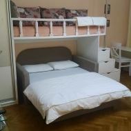 Sleeping area in main room