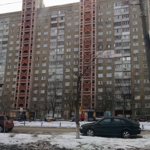 Alex's apartment building