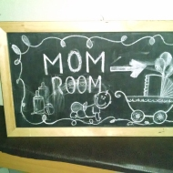 Mother's room at church