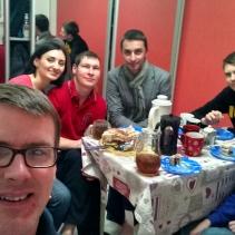 Dinner at Oxana's